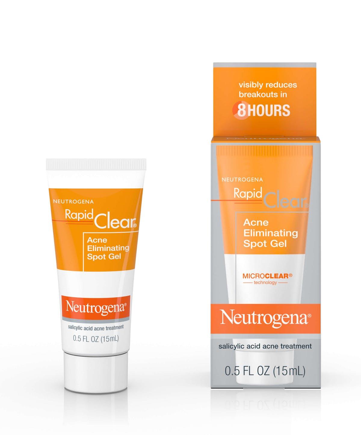 Neutrogena Rapid Clear Salicylic Acid Acne Treatment With Witch