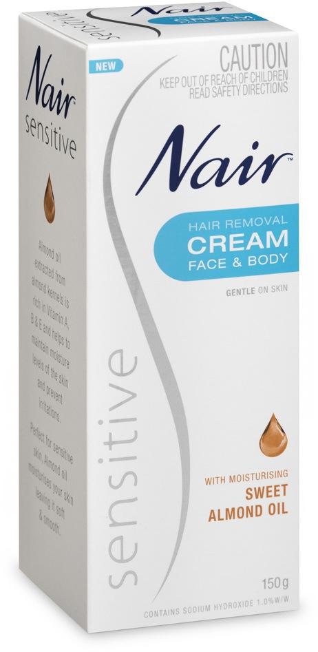 Nair Hair Removing Cream Sensitive Skin 75g Royal Care Cosmetics